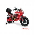 INJUSA MOTO HONDA AFRICA TWIN 6V - Κόκκινη