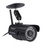 Sricam IP Camera SP013 - Εξωτερική Κάμερα Παρακολούθησης - 720p HD - WIFI - Δώρο καλώδιο LAN - Πολλαπλοί χρήστες - ΜΑΥΡΟ