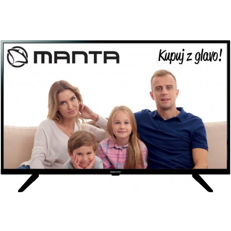 Manta TV 40FN19S - 40'' FULL HD 1920x1080 DVB-C/T2/S2 MHEG 5UK
