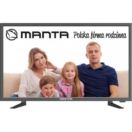 Manta TV 24LHN99L - 24'' HD 1920x1080 DVB-C/T2/S2 MHEG 5UK