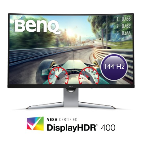 BENQ EX3203R 32'' 144Hz-3k, Curved, Display HDR 400,  Zero Pixel