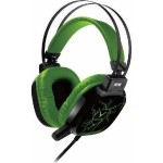 Wesdar GH9 Gaming Headsets with Led - Πράσινα