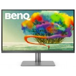 BenQ PD2720U 27'' Graphic Design PC Monitor - Black Grey, Zero Pixel