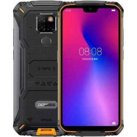 DOOGEE S68 PRO 5,9'' Rugged 6GB/128GB, Triple Camera, IP69 - Black