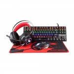 BLACK DRAGON GAMING STARTER KIT (MECHANICAL KEYBOARD, MOUSE, HEADSET, MOUSEPAD)