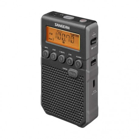 Sangean DT-800 (Pocket 800) - Φορητό Ραδιόφωνο - Black