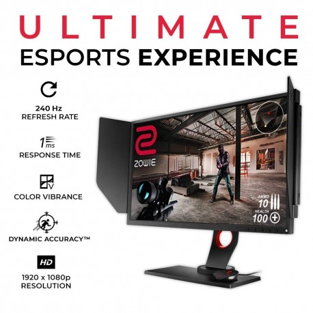 BENQ ZOWIE XL2546Κ 240Hz, PC Pro Gaming Monitor Zero Pixel